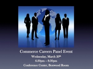 Commerce Careers Panel